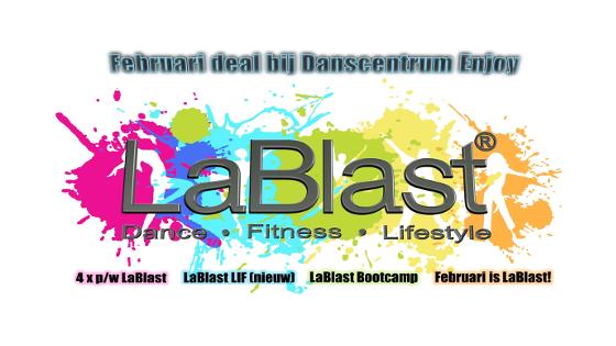 LaBlast februari deal bij Danscentrum Enjoy