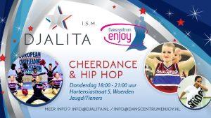 Nieuw: Cheerdance en Hip Hop bij danscentrum Enjoy vanaf donderdag 13 september